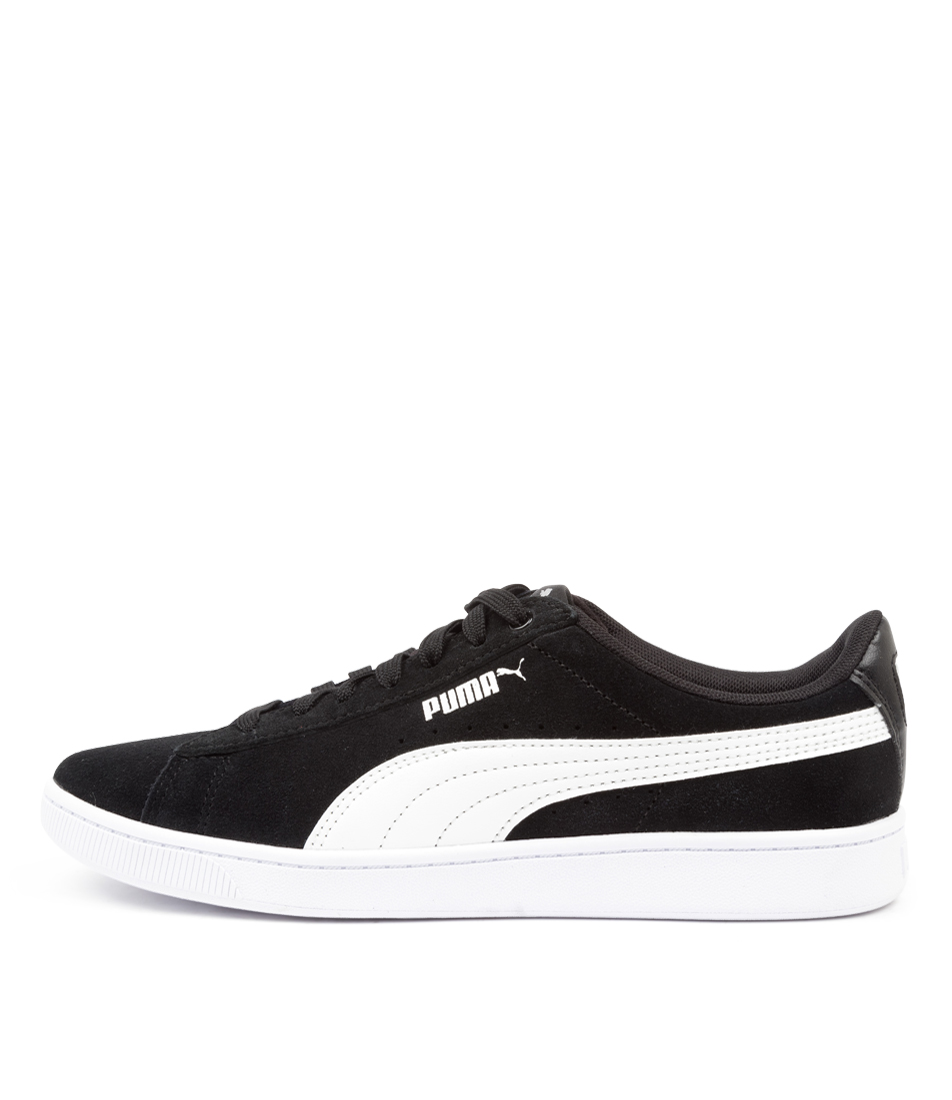 Buy Puma 369725 Vikky V2 Wns Pm Black White Sneakers online with free shipping