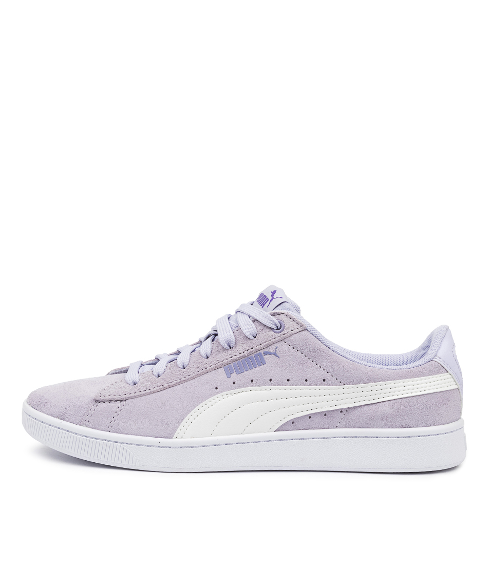 Buy Puma 369725 Vikky V2 Wns Pm Purple White Purple Sneakers online with free shipping