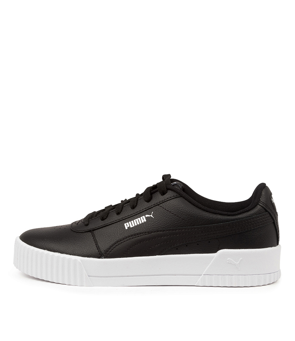 Buy Puma 370325 Carina L W Pm Black White Silver Sneakers online with free shipping
