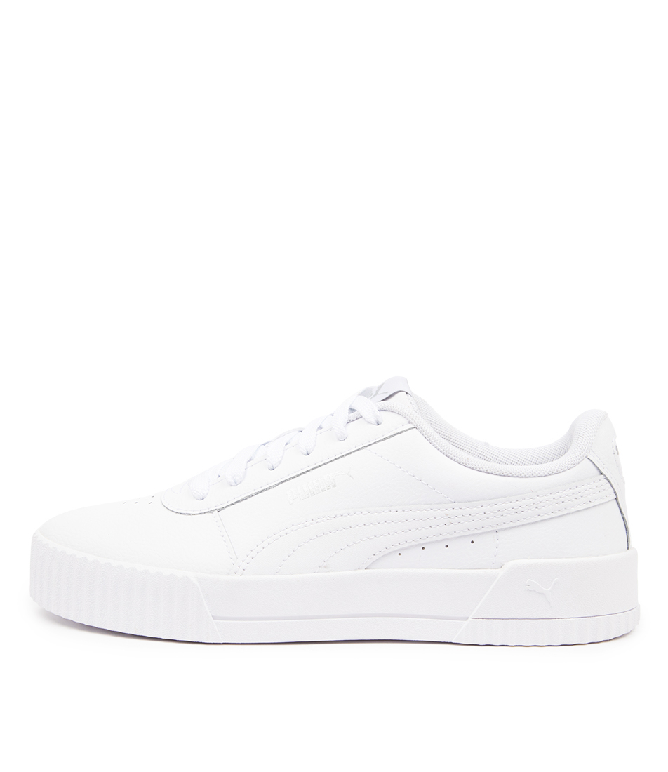 Buy Puma 370325 Carina L Wns Pm White White Sneakers online with free shipping