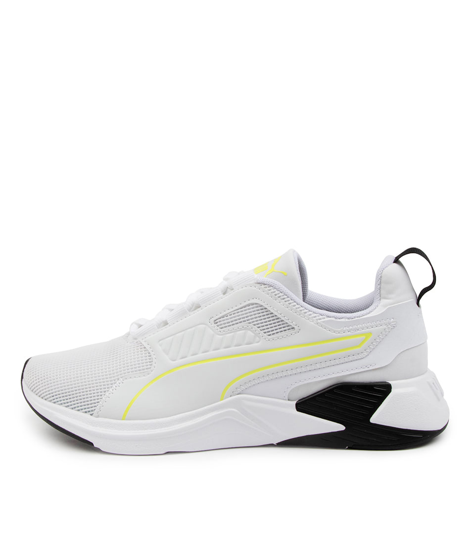 Buy Puma 193744 Disperse Xt Pm White Yellow Sneakers online with free shipping