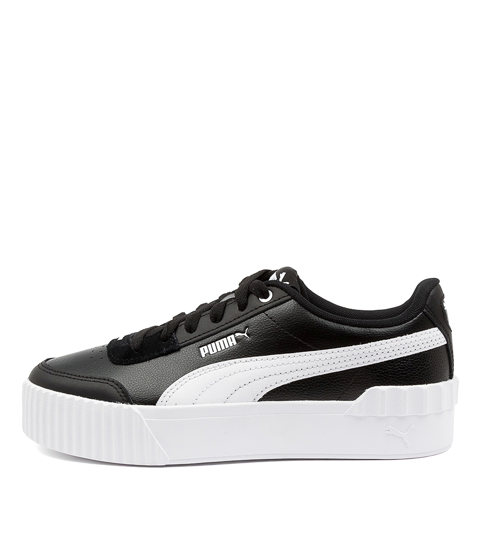 Buy Puma 373031 Carina Lift Pm Black White Sneakers online with free shipping