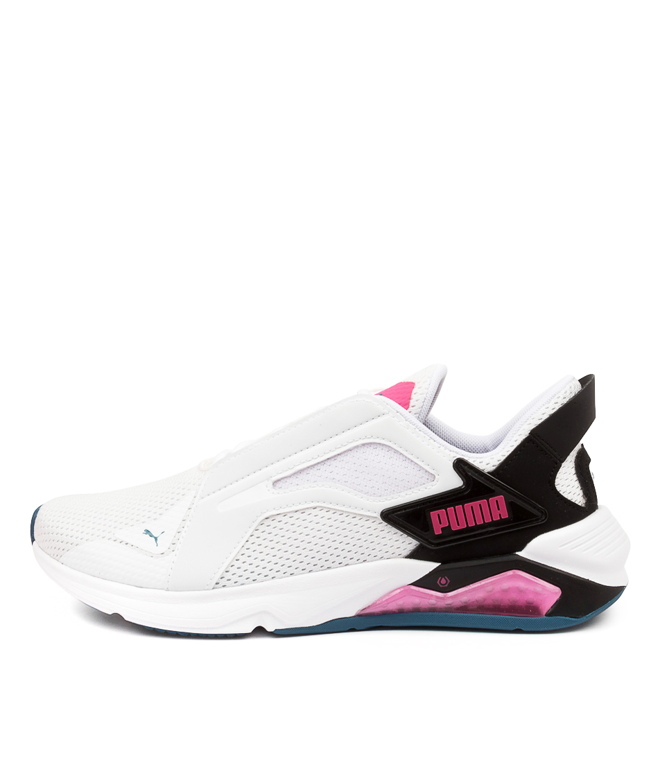 Buy Puma 193780 Lqdcell Method Pm White Black Pink Sneakers online with free shipping