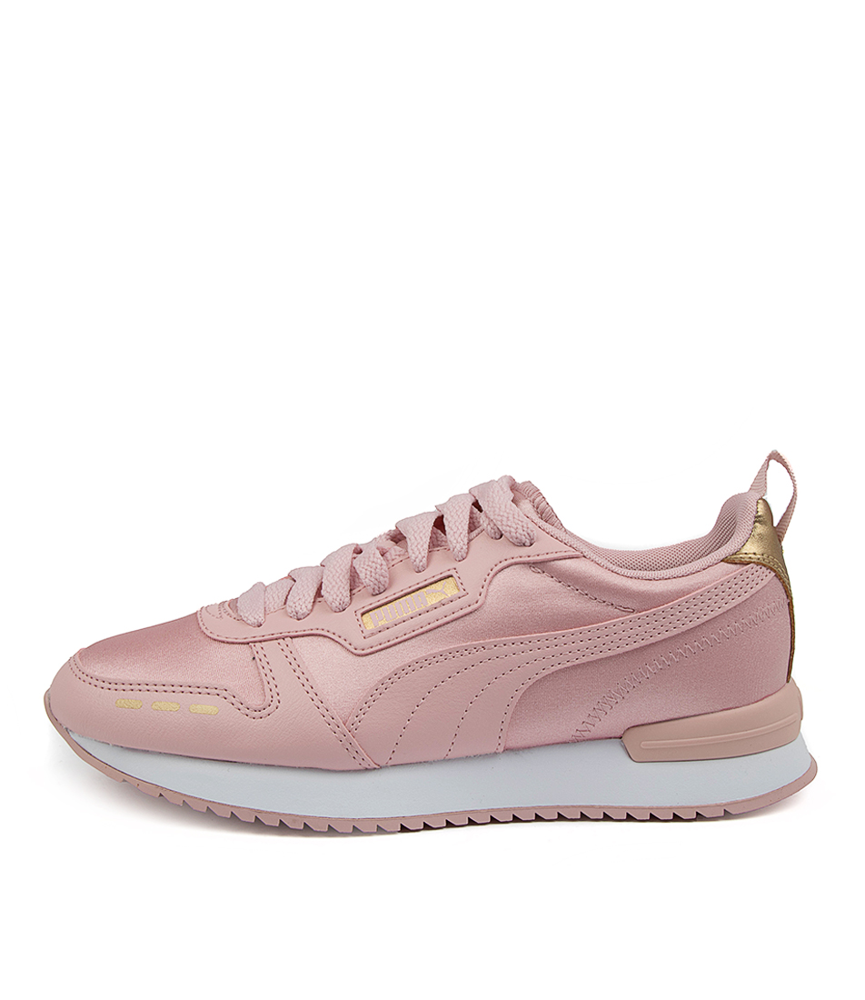 Buy Puma 374739 R78 Metallic Pm Peachskin Gold Sneakers online with free shipping