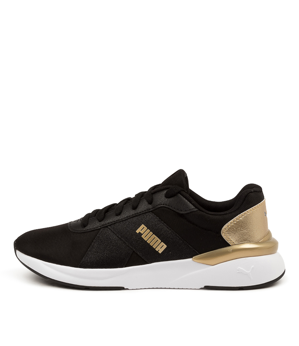 Buy Puma 381080 Rose Metallic Pop Pm Black Gold Sneakers online with free shipping