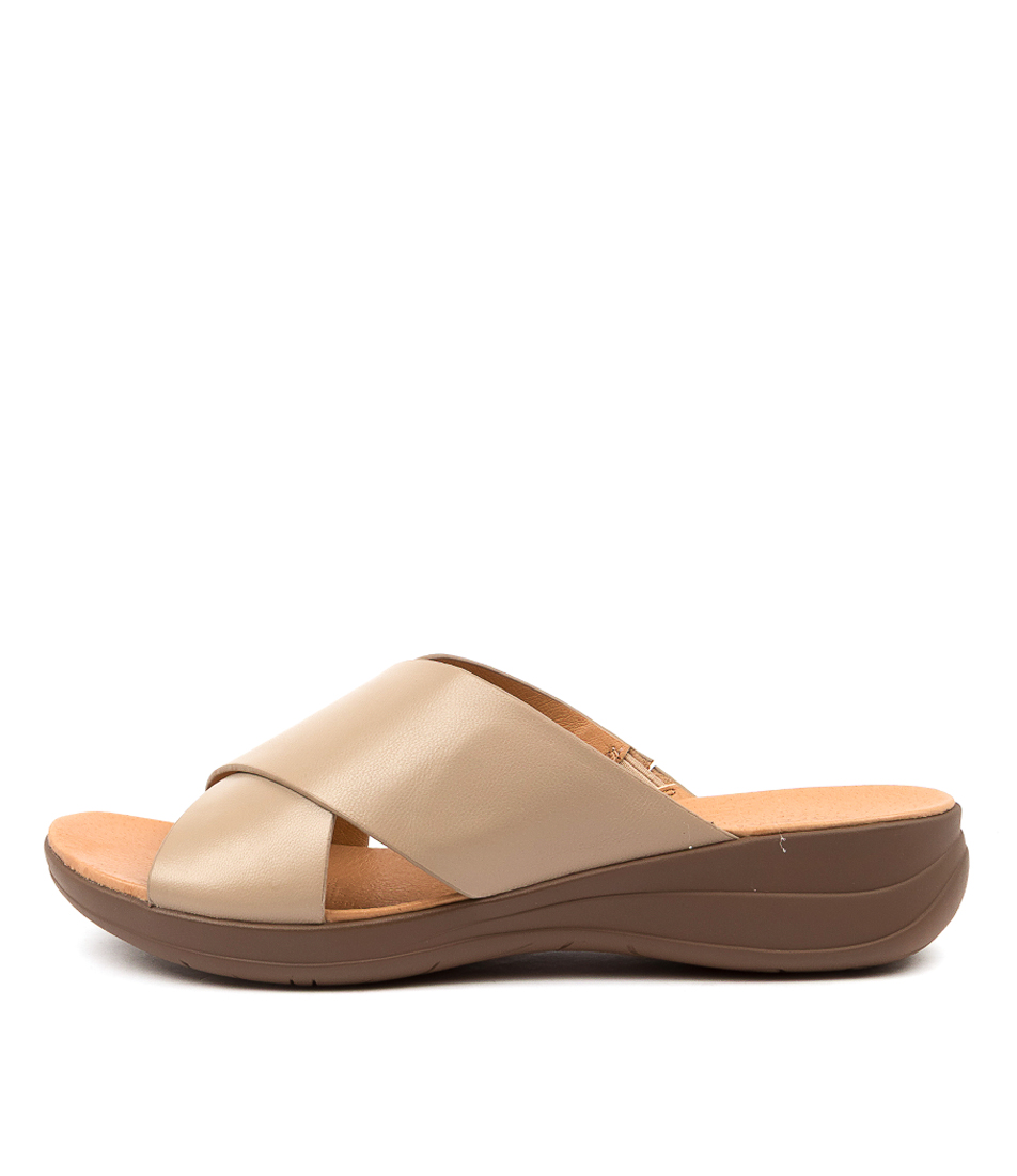 Buy Portland Mirror Pp Lt Taupe Sandals Flat Sandals online with free shipping
