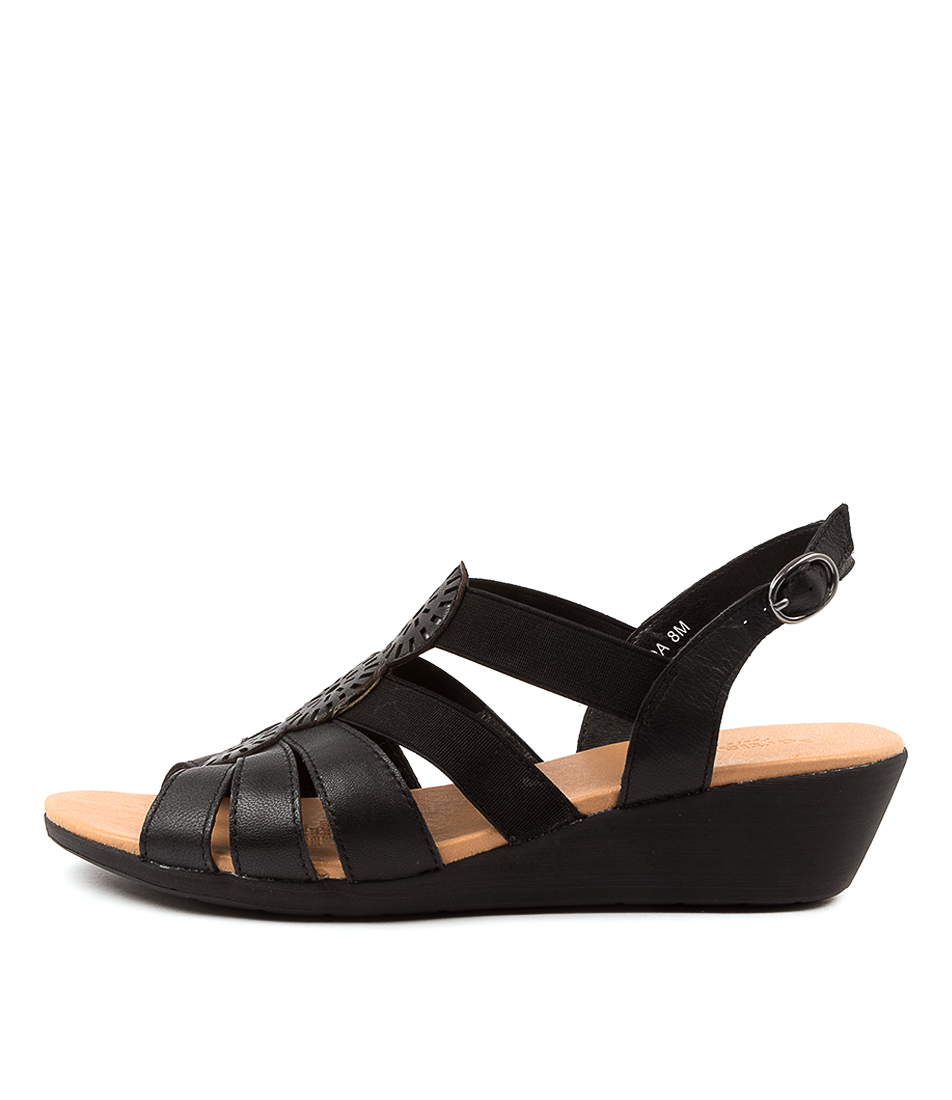 Buy Portland Joda Pp Black Heeled Sandals online with free shipping