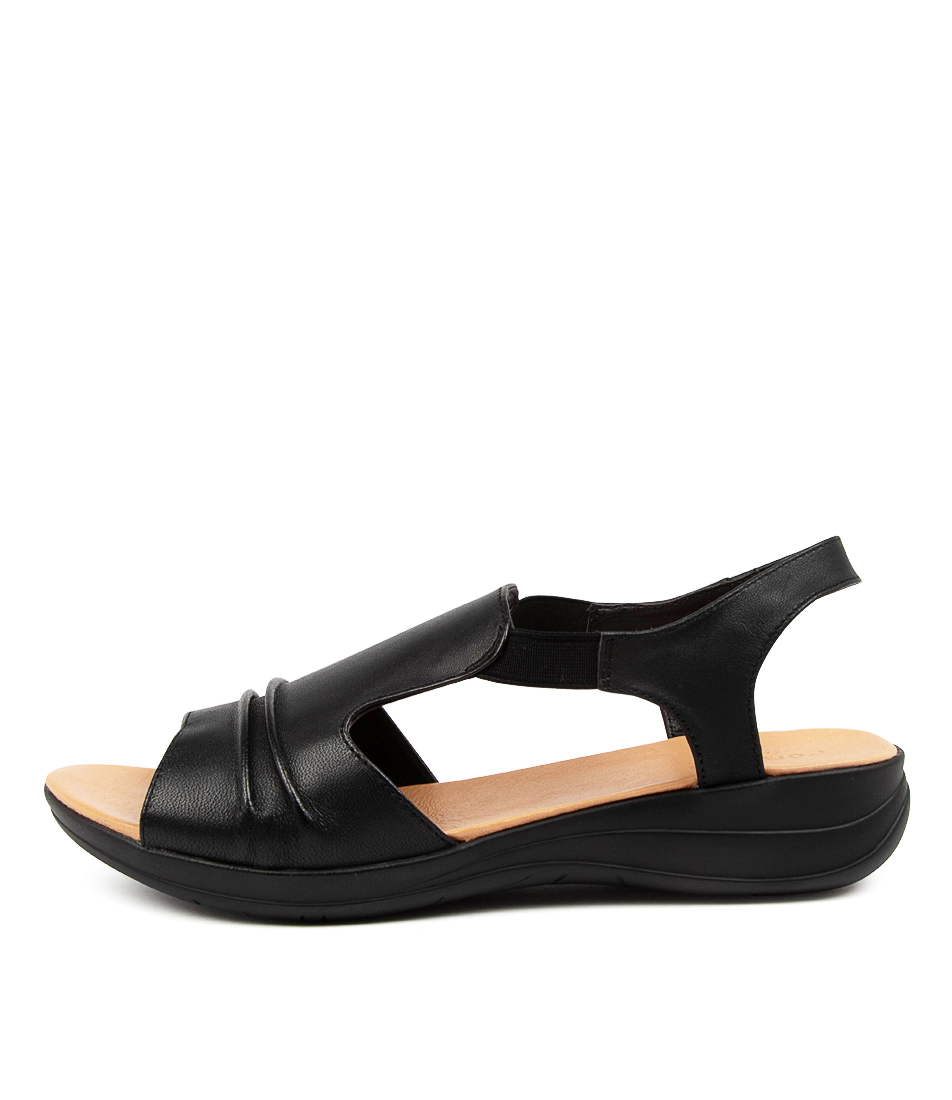 Buy Portland Markus Pp Black Sandals Flat Sandals online with free shipping
