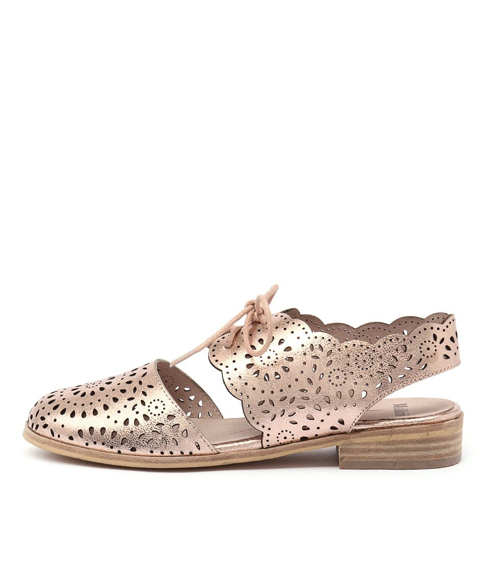 Mollini Quorro Rose Gold Flat Shoes