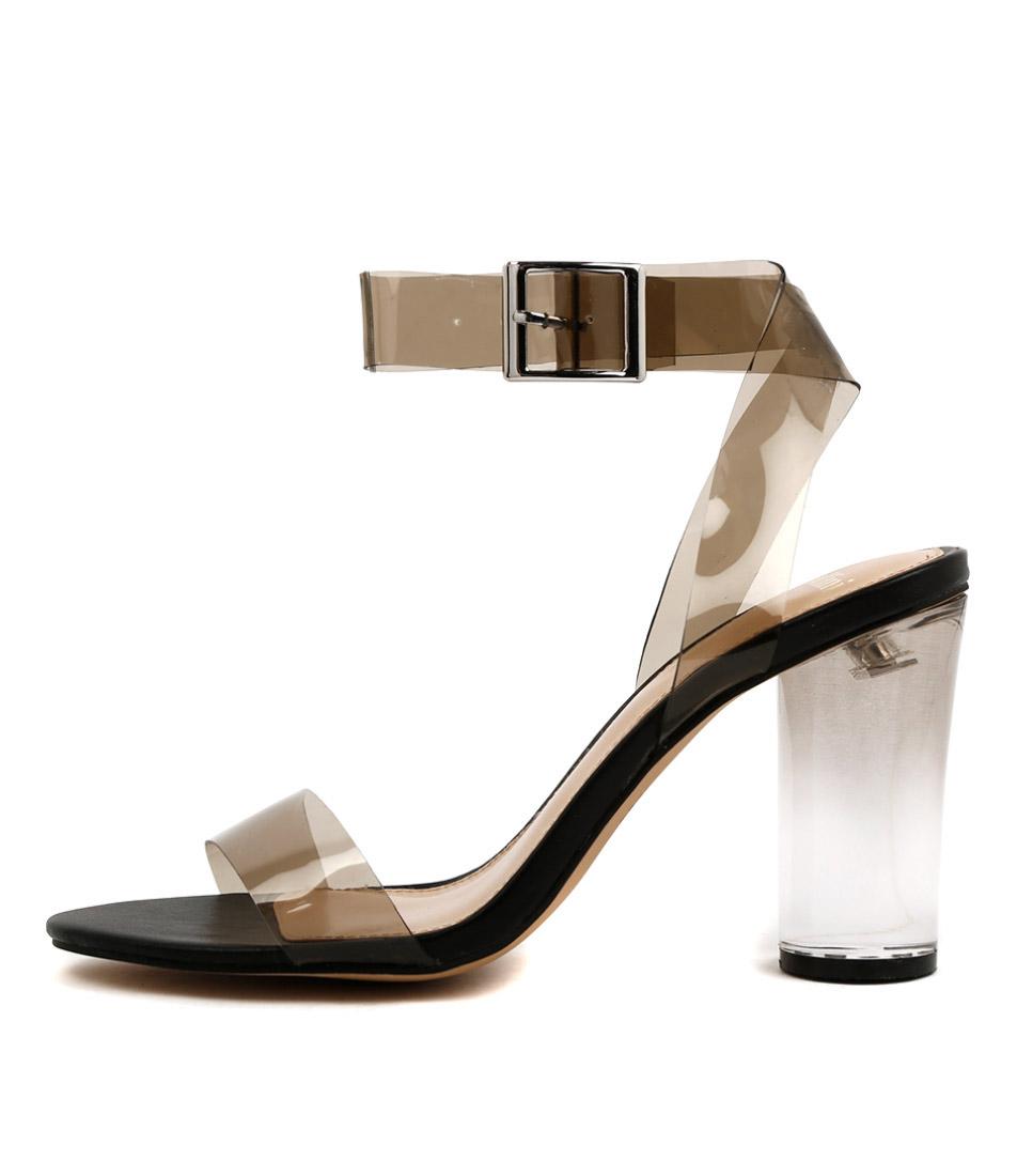 Buy Mollini Random Smoke Black Heeled Sandals online with free shipping