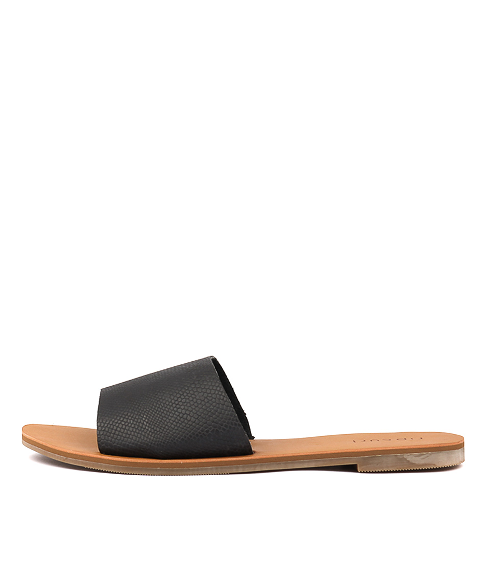 Ripcurl Wategos Black Tan Sandals