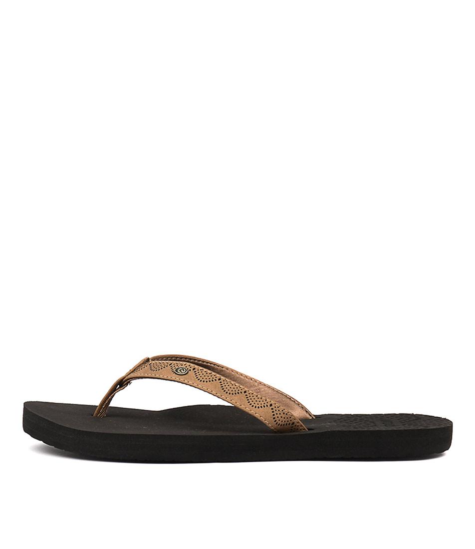 Ripcurl P Lows Tan Sandals