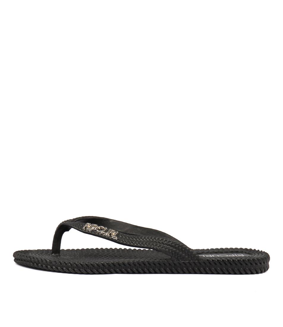 Ripcurl Festival Solid Black Sandals