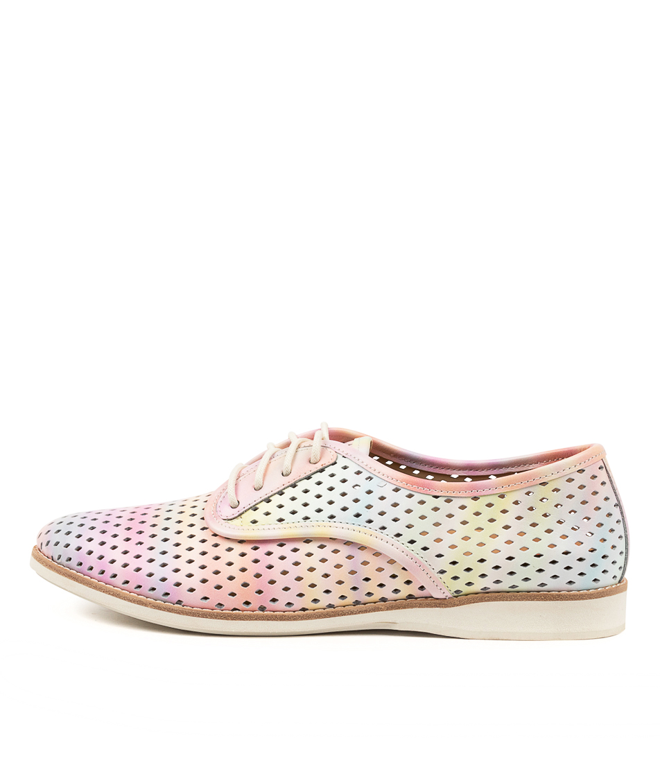Buy Rollie Derby Punch Watercolour Blurred Flats online with free shipping