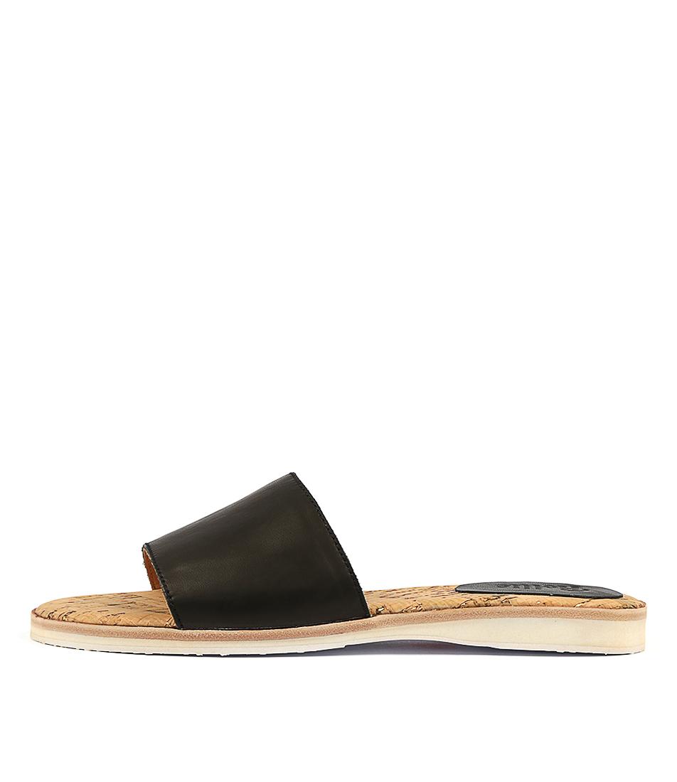 Rollie Sandal Slide Black Sandals