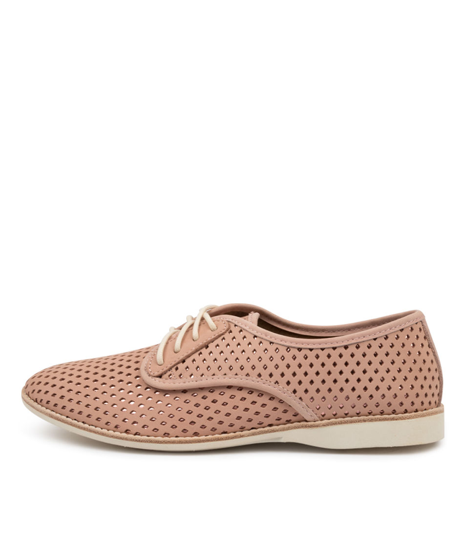 Buy Rollie Derby Punch Overlay Pink Pink Flats online with free shipping