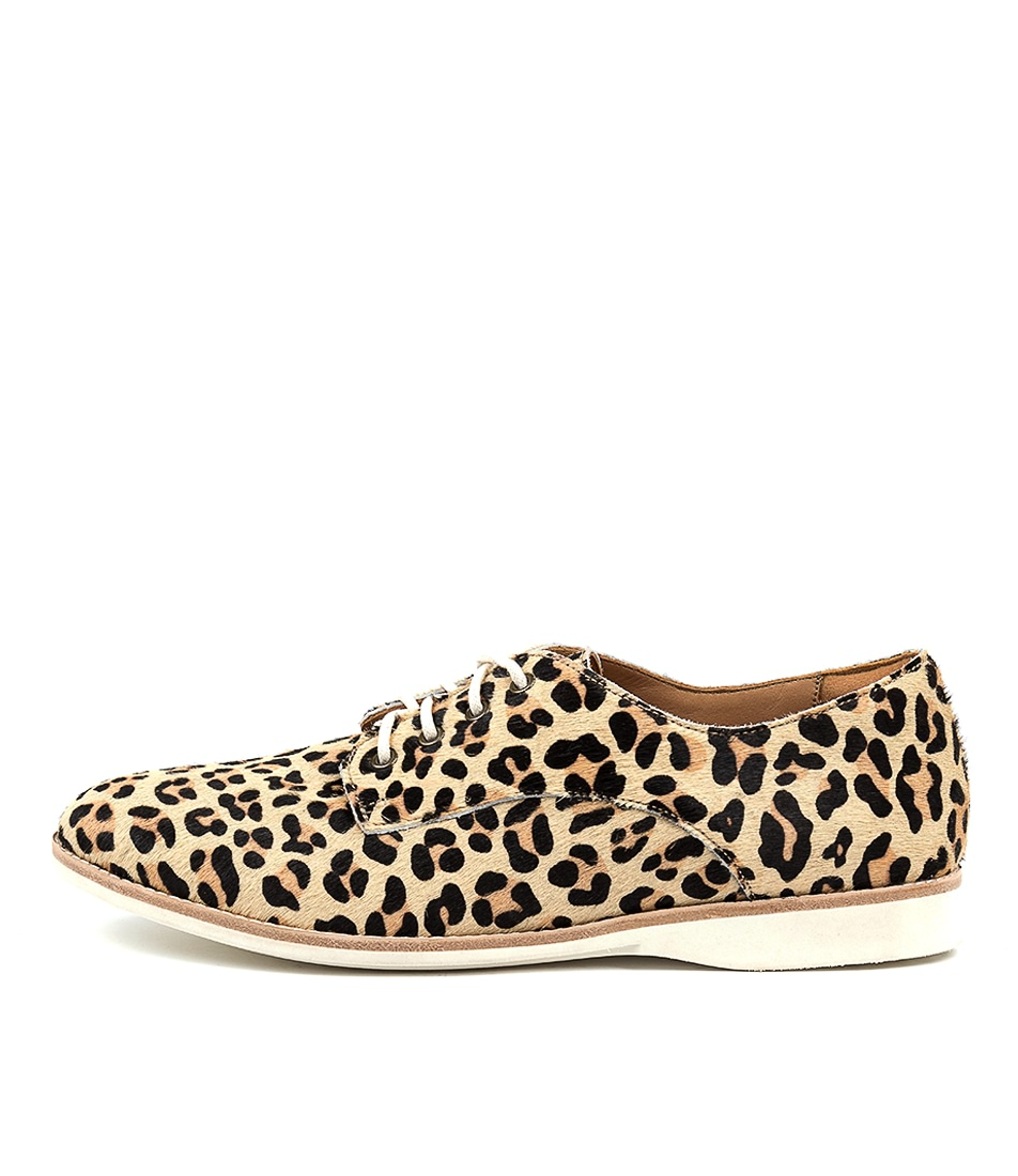 Buy Rollie Derby Rl Pony Camel Leopard Flats online with free shipping