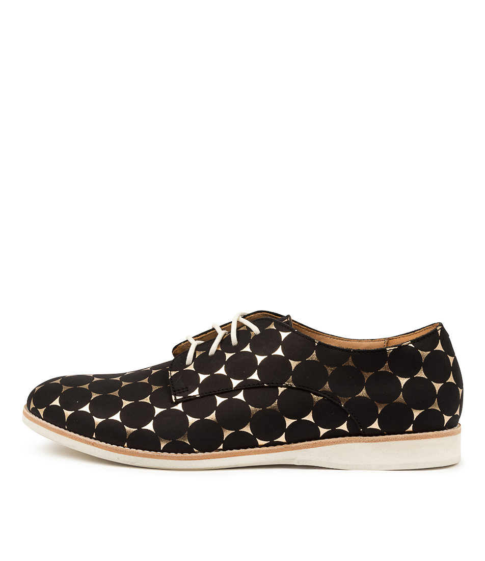 Buy Rollie Derby Rl Print Gold Star Flats online with free shipping