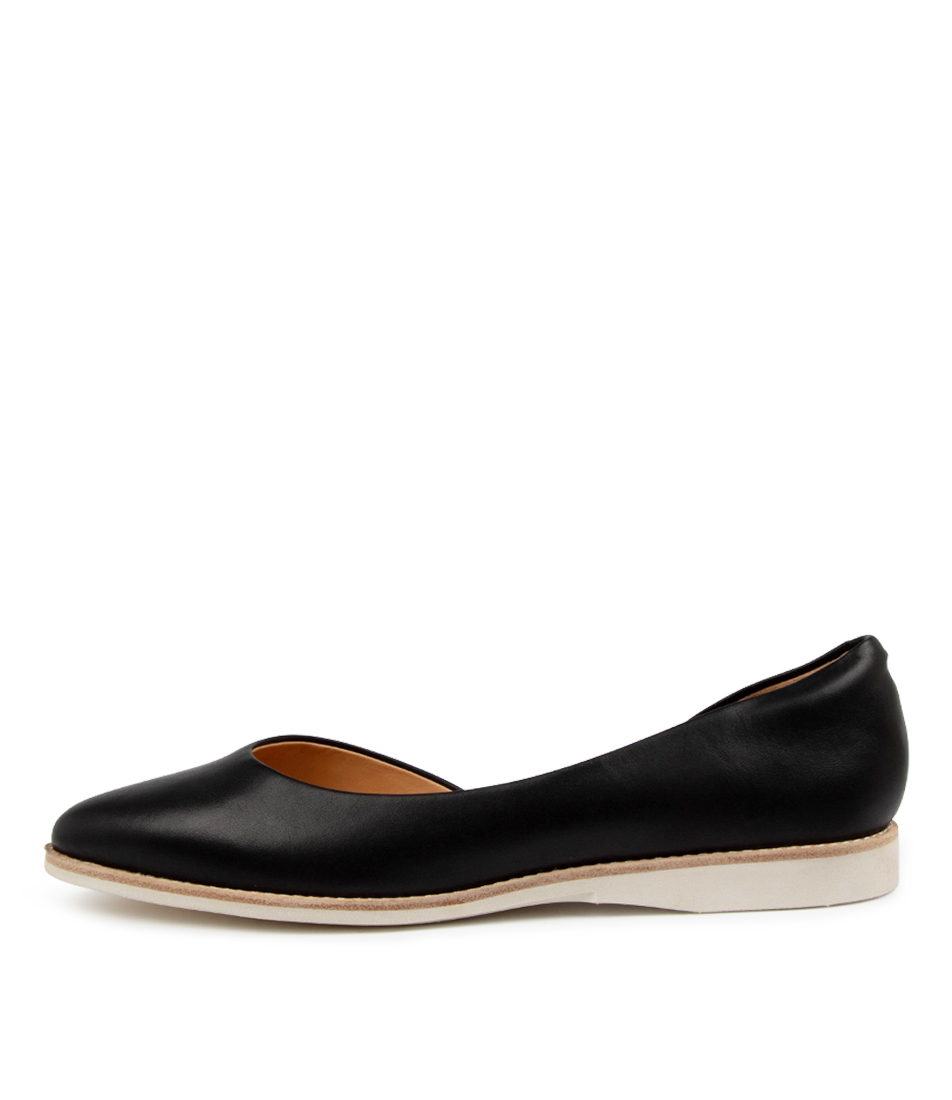 Buy Rollie Madison D'orsay Rl Black Flats online with free shipping