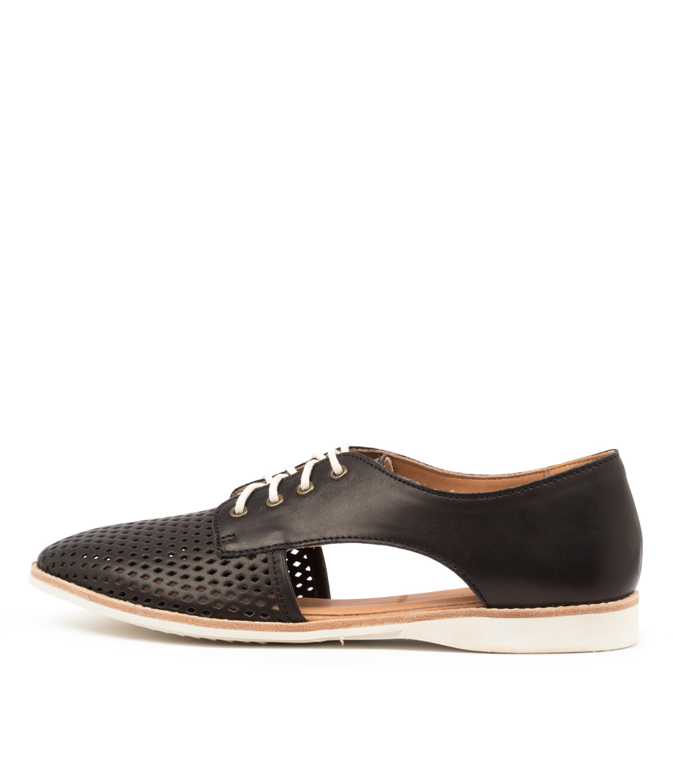 Buy Rollie Sidecut Punch X Rl Black Flats online with free shipping