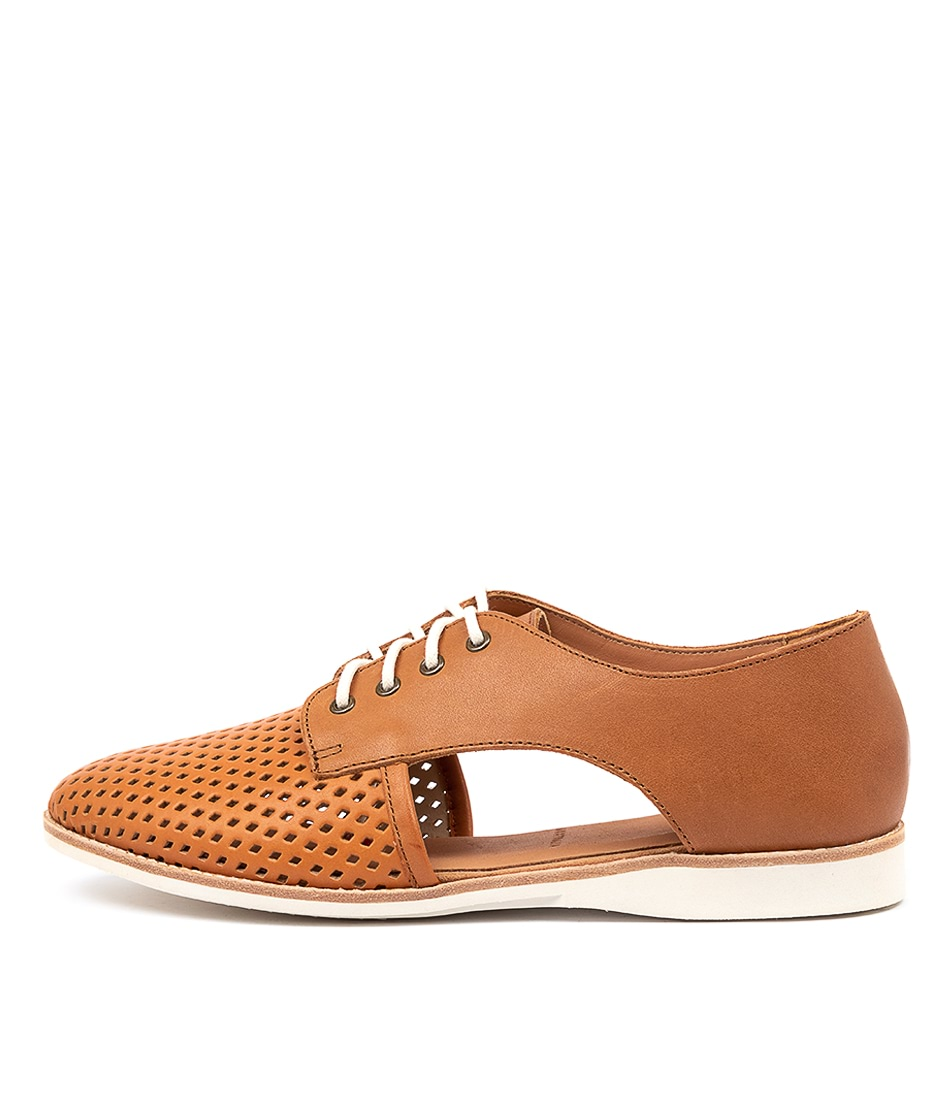Buy Rollie Sidecut Punch X Rl Cognac Burnish Flats online with free shipping