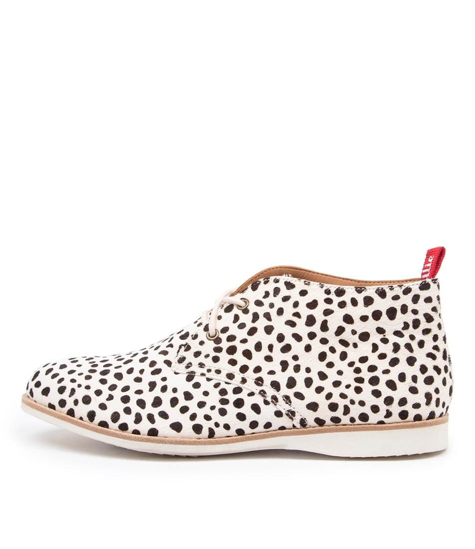 Buy Rollie Chukka Boot Pony Rl Medium Snow Leopard Ankle Boots online with free shipping