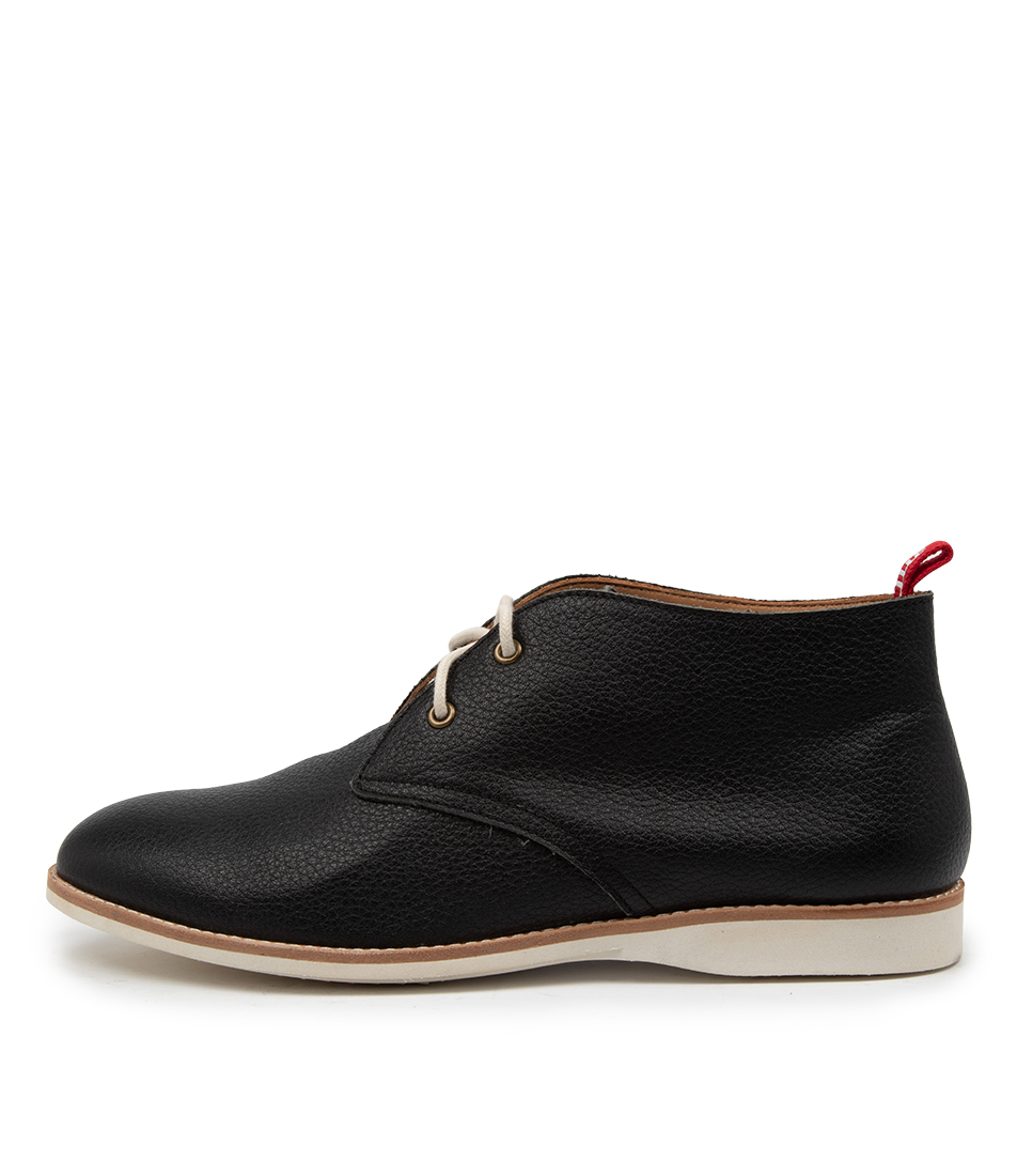 Buy Rollie Chukka Boot Tumble Unlined Rl Black Ankle Boots online with free shipping
