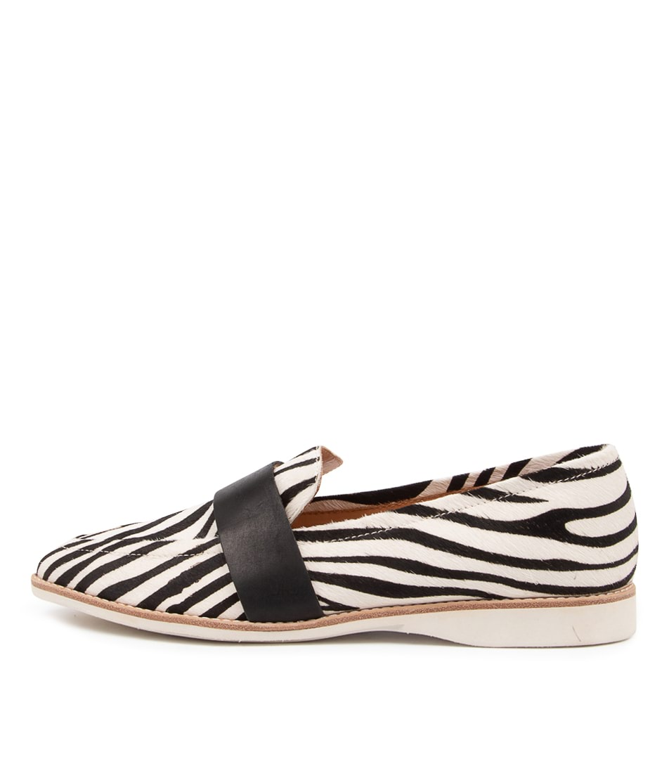 Buy Rollie Madison Albert Rl Zebra Flats online with free shipping