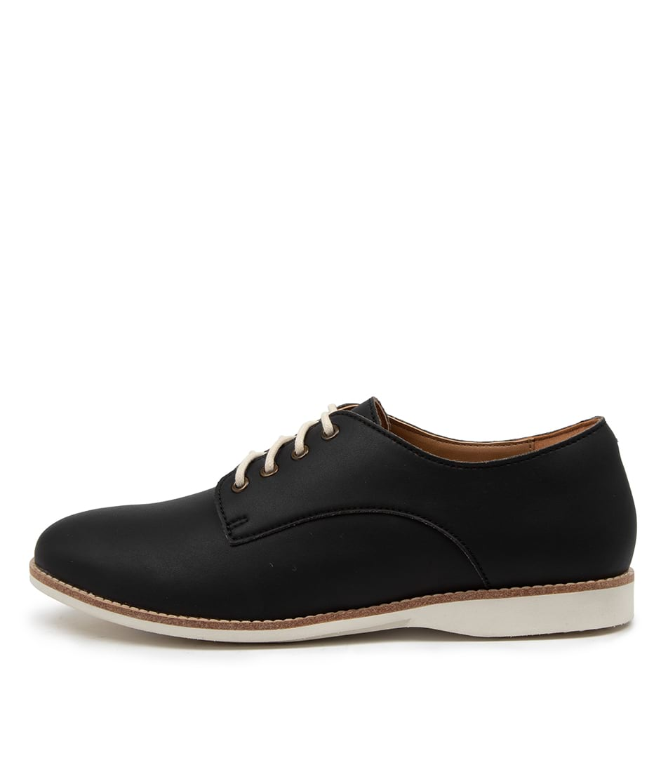 Buy Rollie Derby Vegan Rl Black Flats online with free shipping