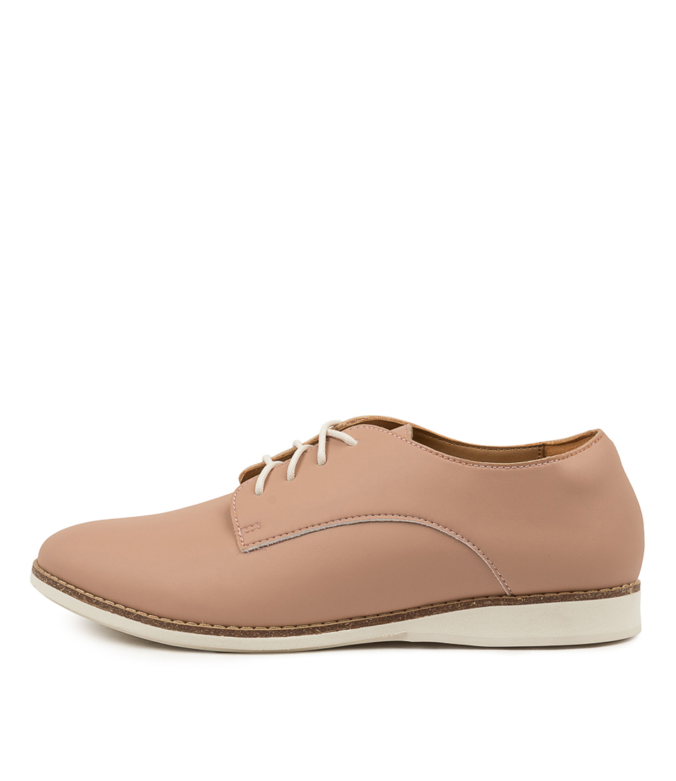 Buy Rollie Derby Vegan Rl Snow Pink Flats online with free shipping