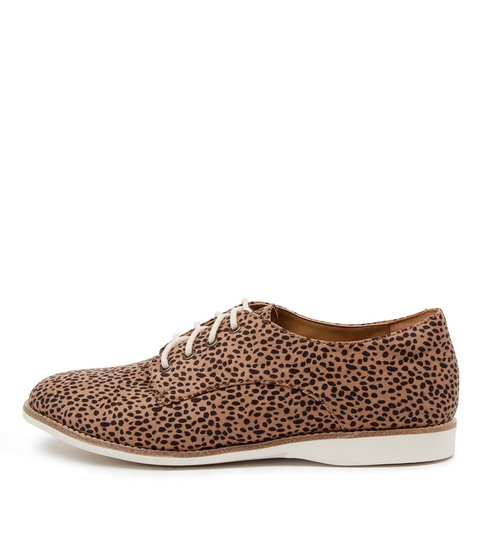 Buy Rollie Derby Print Vegan Rl Whiskey Dots Flats online with free shipping