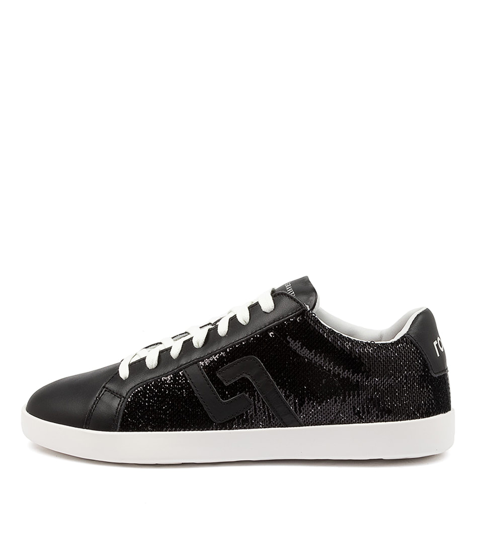 Buy Rollie Prime Rl Black Sequins Sneakers online with free shipping