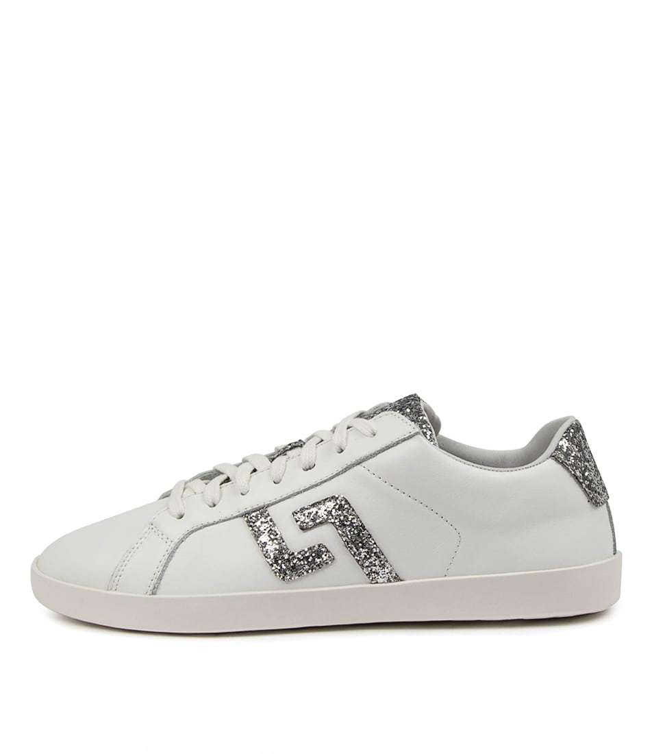 Buy Rollie Prime X Rl White Silver Glitter Sneakers online with free shipping