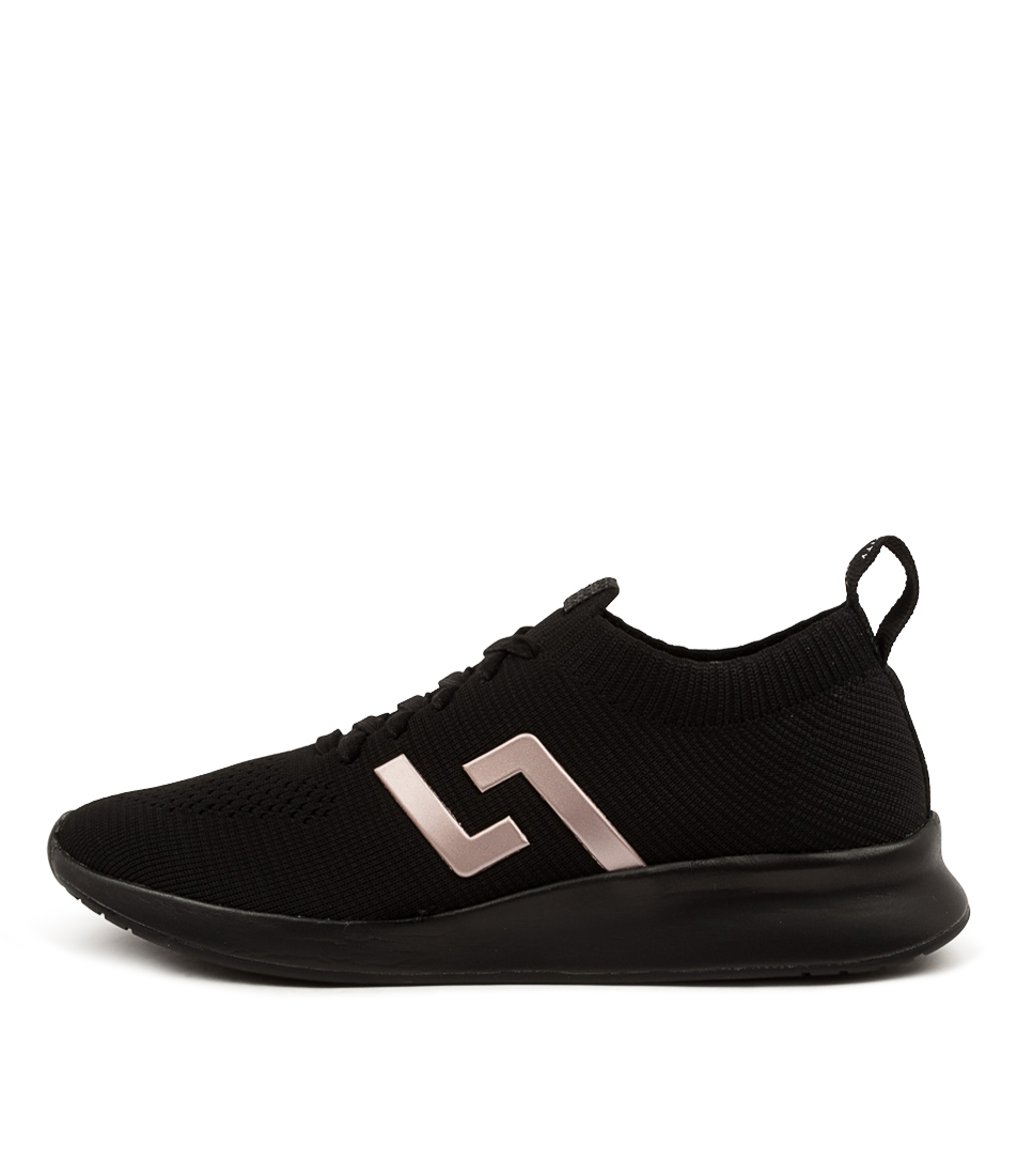 Buy Rollie Bolt Rl Black Rose Gold Sneakers online with free shipping