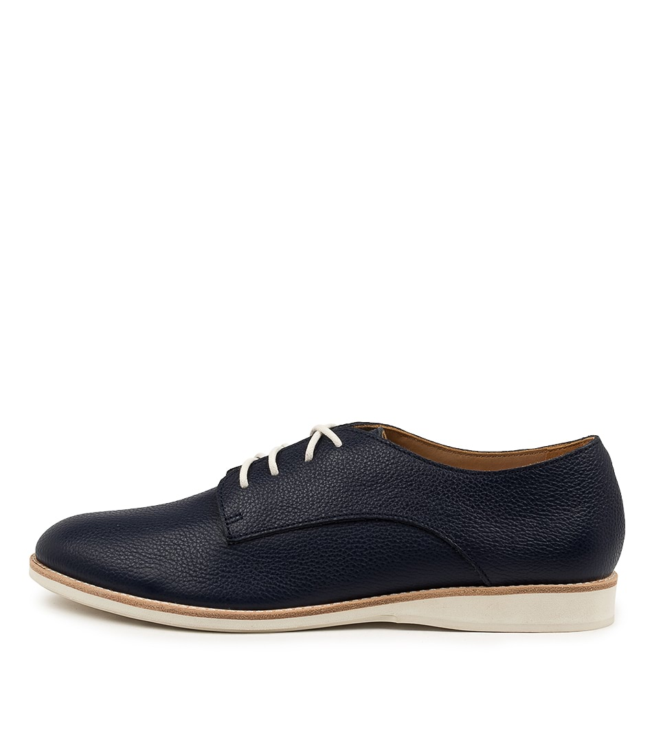 Buy Rollie Derby Supersoft Rl Navy Flats online with free shipping