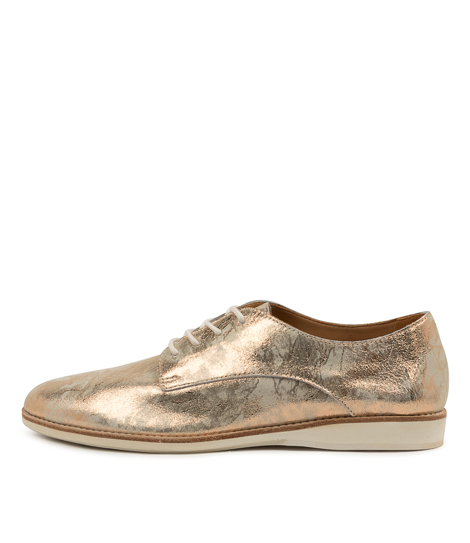 Buy Rollie Derby Supersoft Rl Marble Metallic Flats online with free shipping