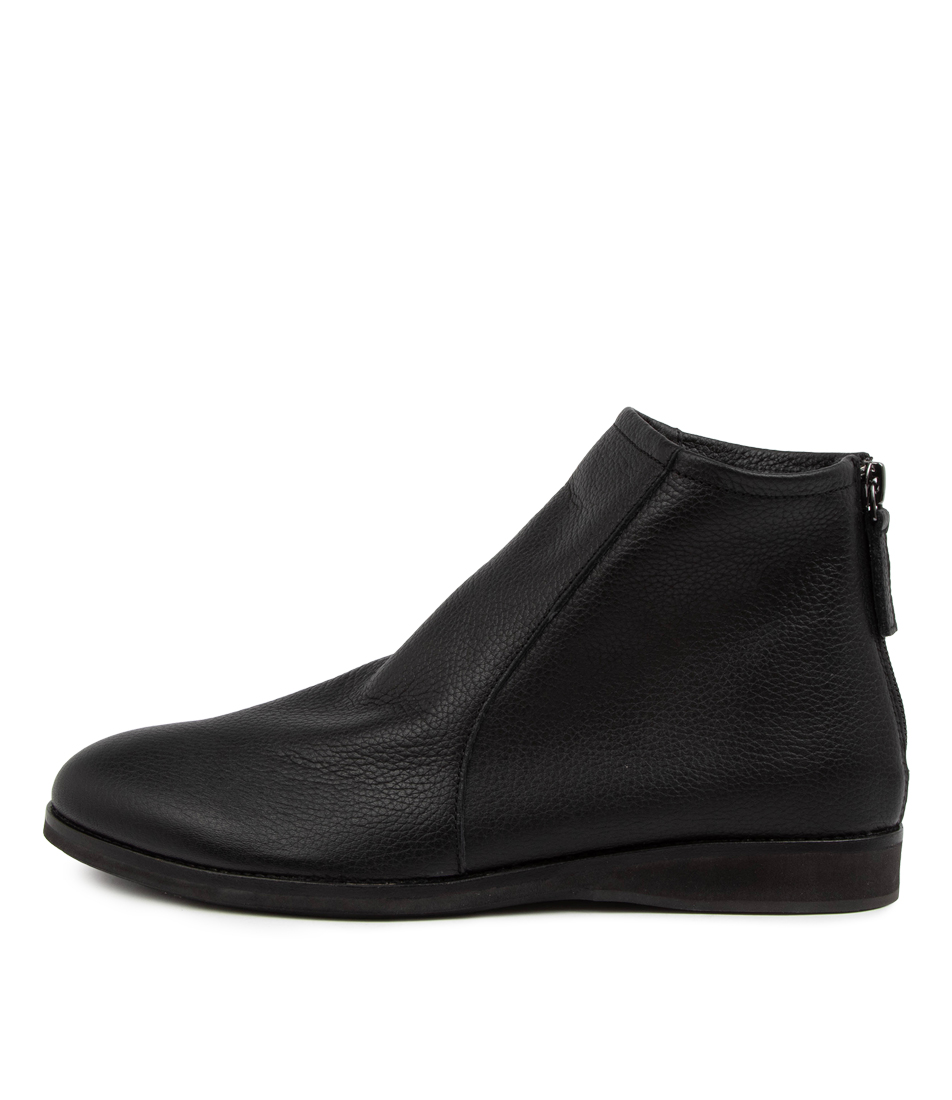 Buy Rollie Aura Boot Rl All Black Ankle Boots online with free shipping