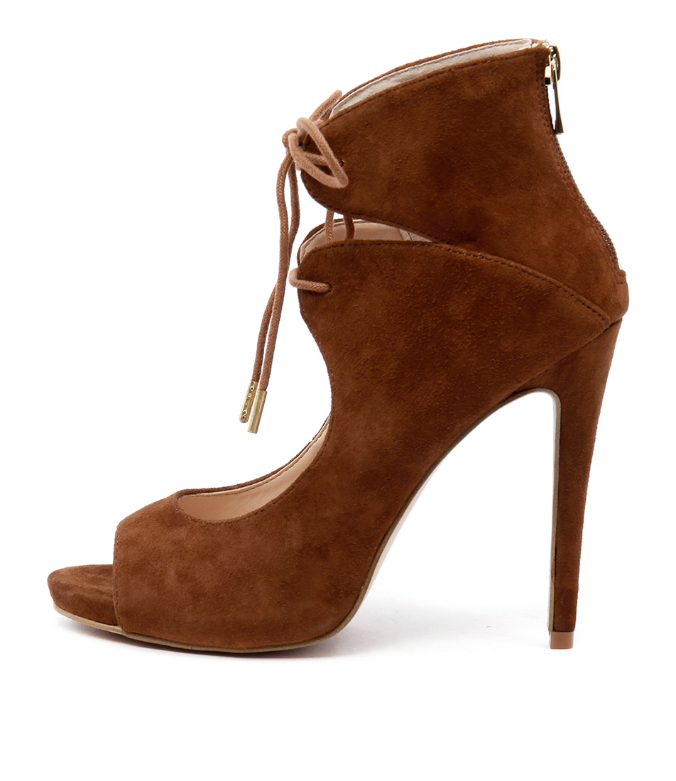 Rmk Sara Rm Cognac Dress Heeled Shoes