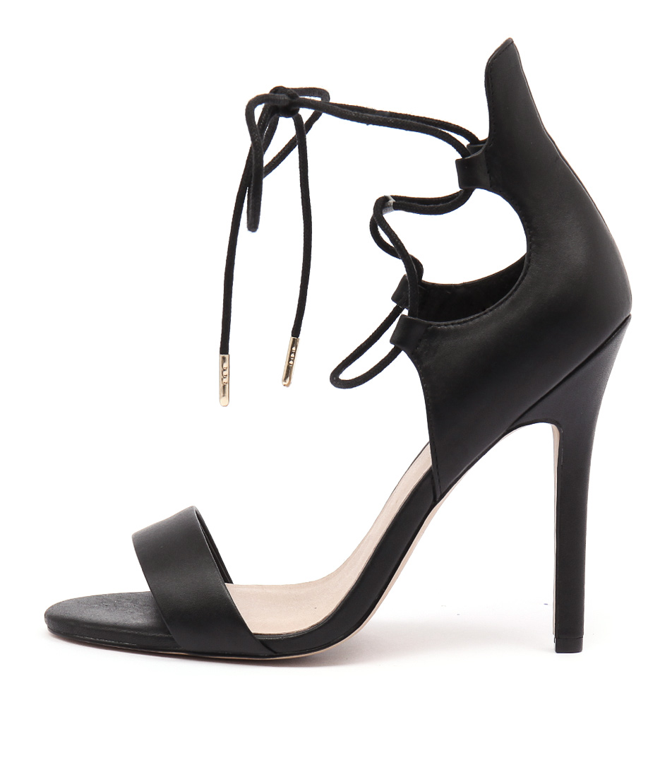Rmk Floyd Black Dress Heeled Sandals