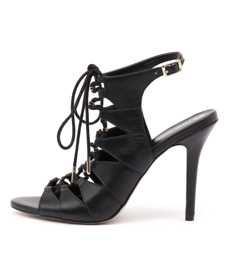 Rmk Keanu Black Dress Heeled Sandals