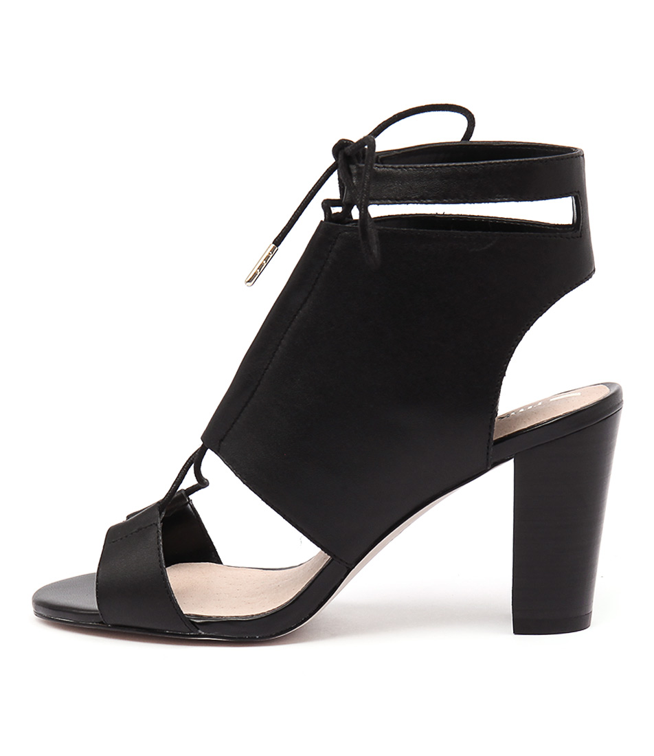 Rmk Samba Black Dress Heeled Sandals