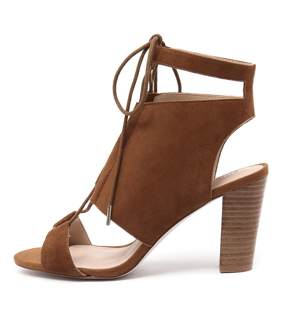 Rmk Samba Cognac Dress Heeled Sandals