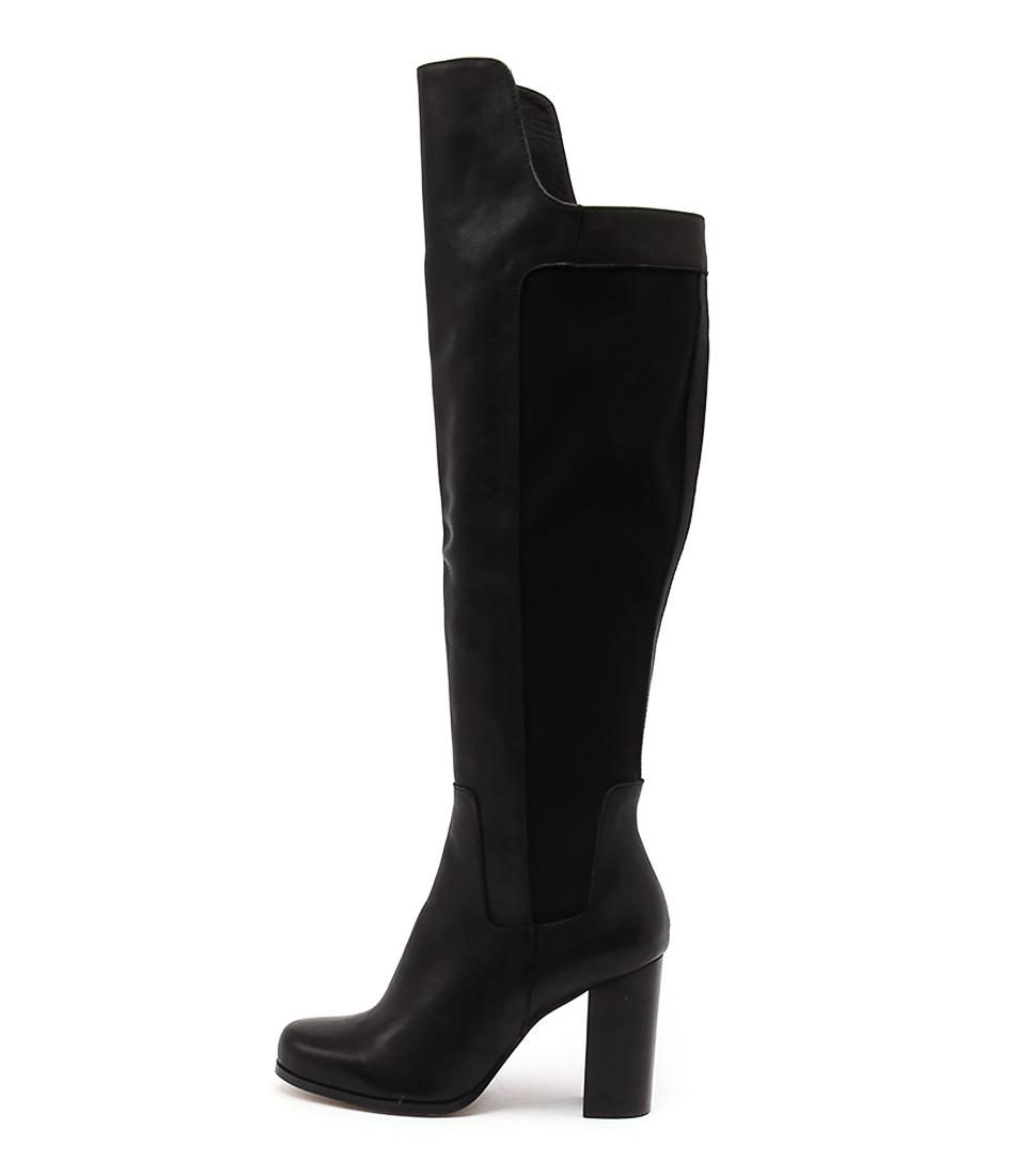 Rmk Faithful Black Casual Long Boots