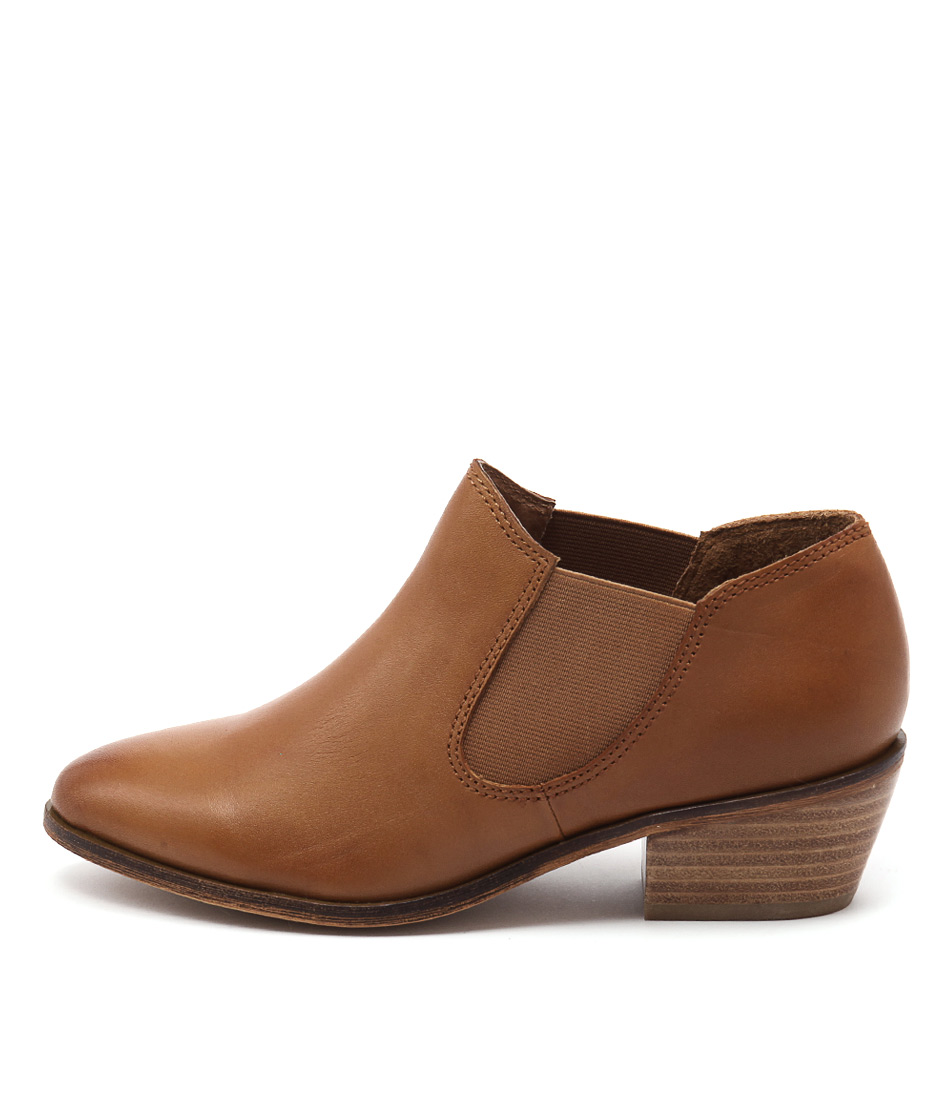 Rmk Anna Rm Cognac Casual Ankle Boots