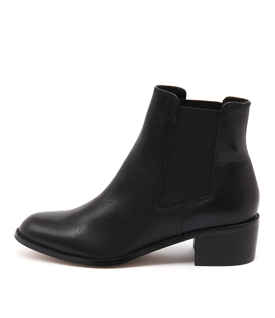 Rmk Neo Black Casual Ankle Boots