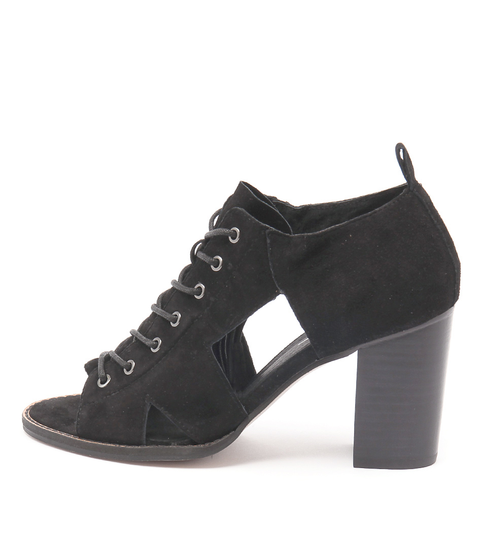 Rmk Calvin Rm Black Casual Heeled Shoes