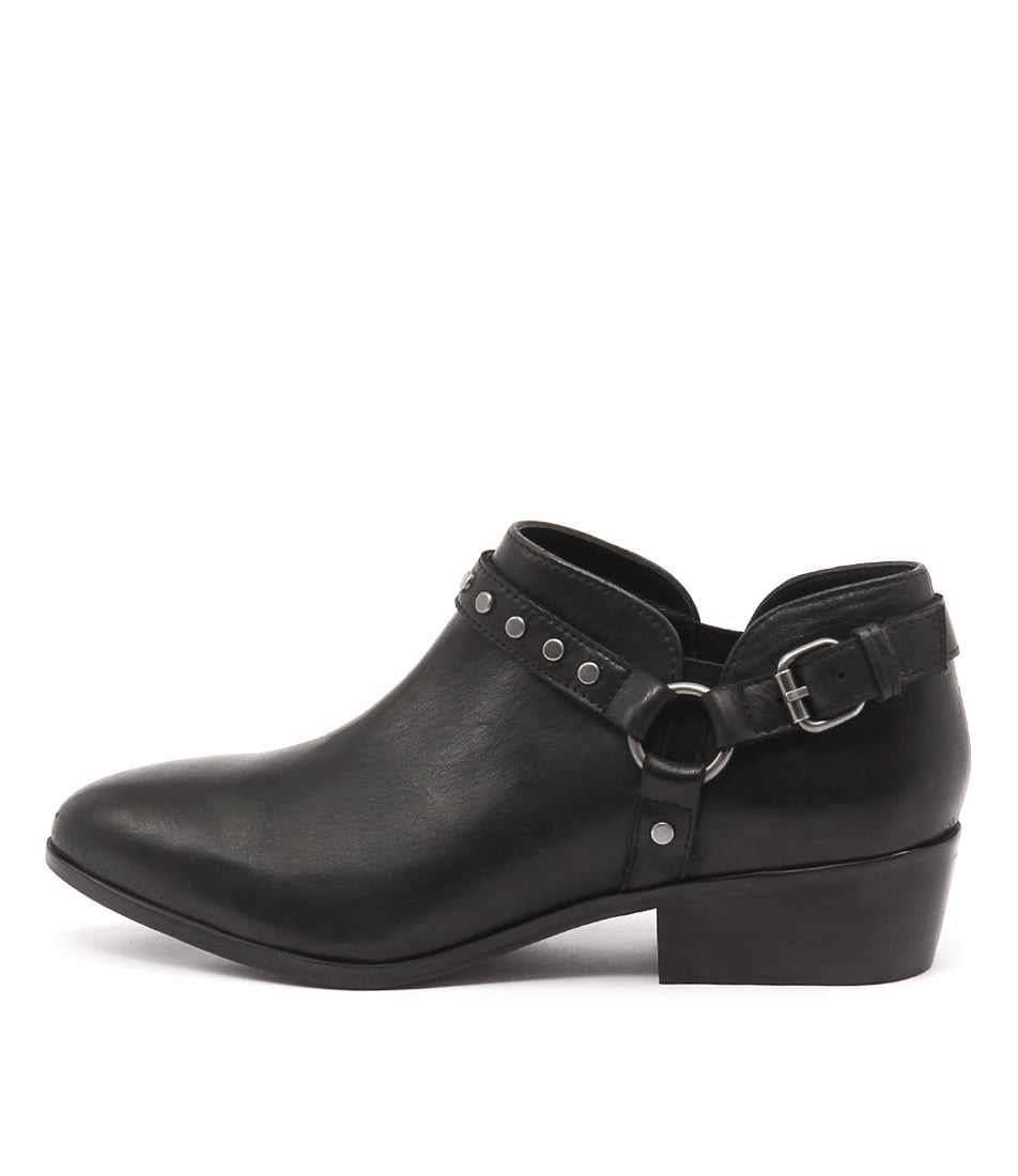 Rmk Glimmer Black Casual Ankle Boots