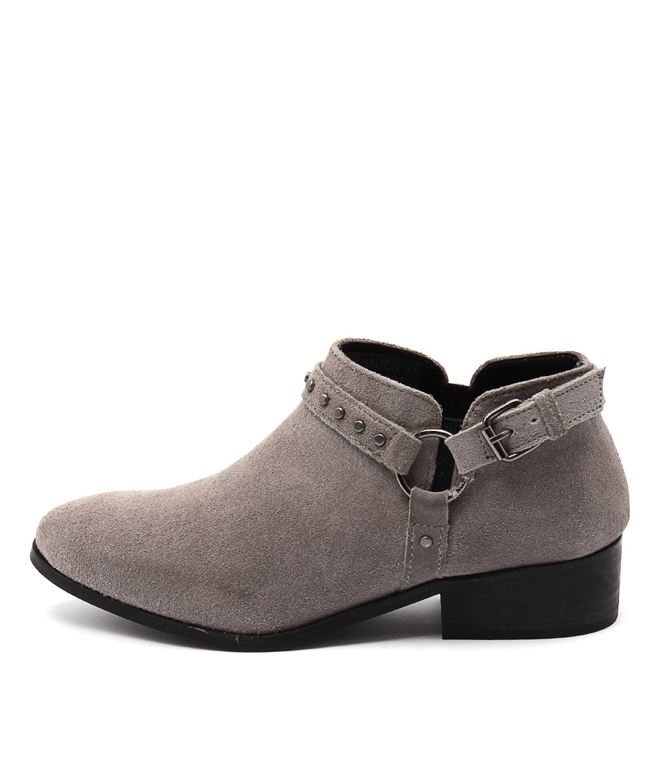 Rmk Glimmer Grey Casual Ankle Boots
