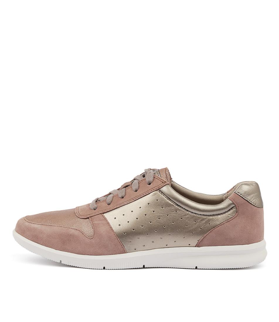 Rockport City Lite Ayva Tie Petal Sneakers