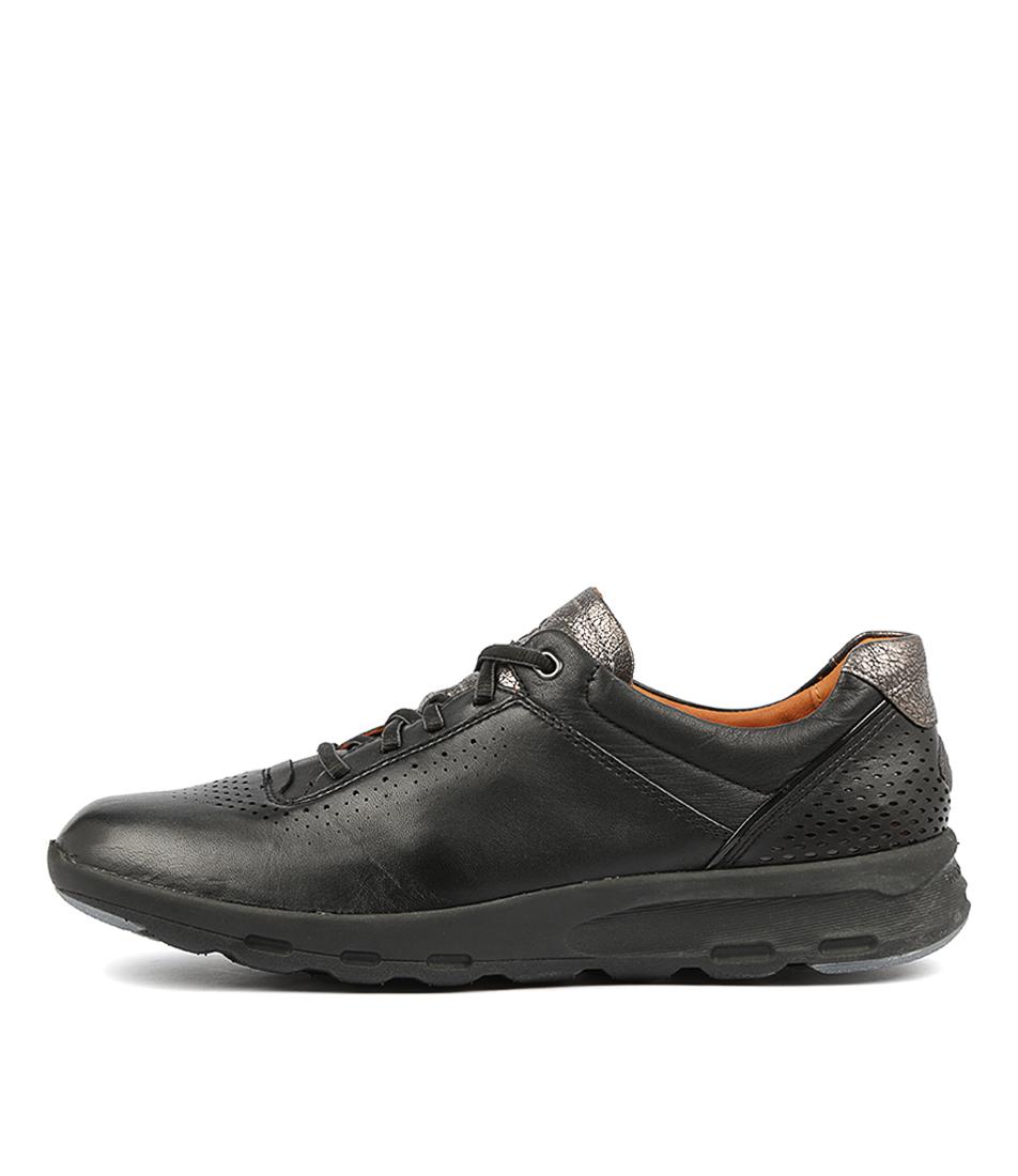 Rockport Lets Walk W Ubal Black Sneakers